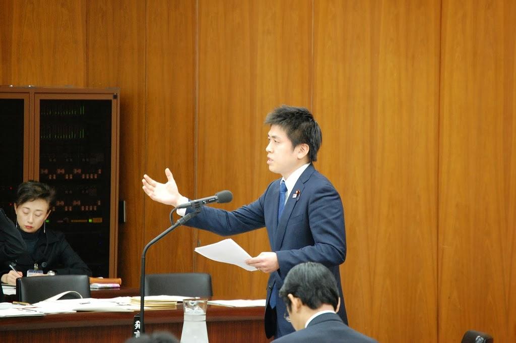 東日本大震災復興特別委員会で質問