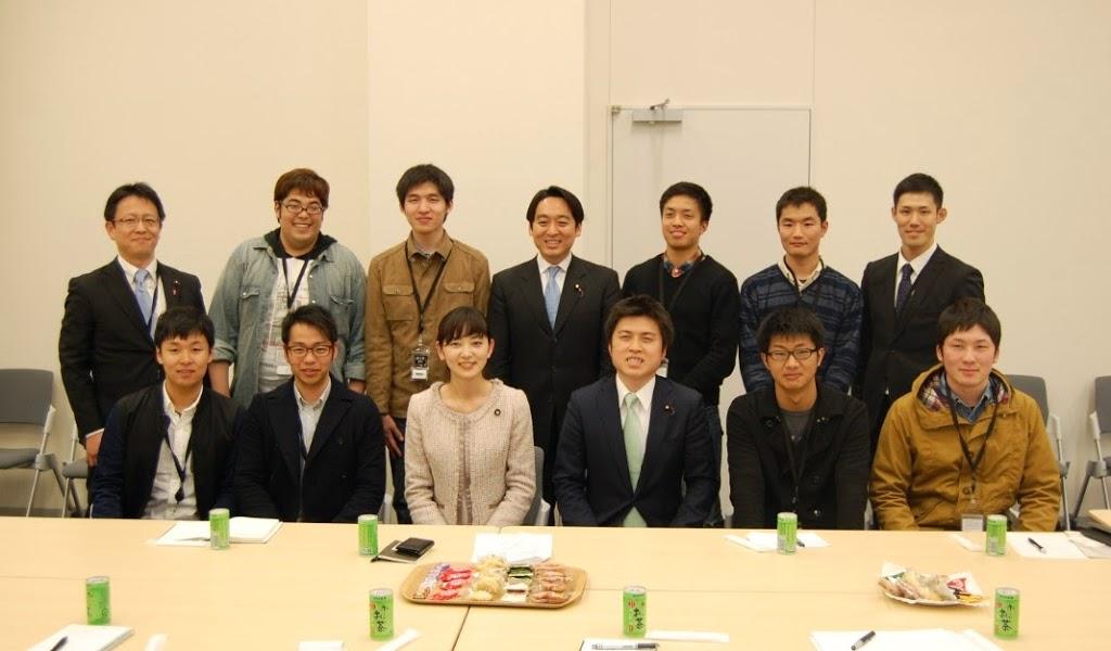 千葉県の学生の皆様と懇談会