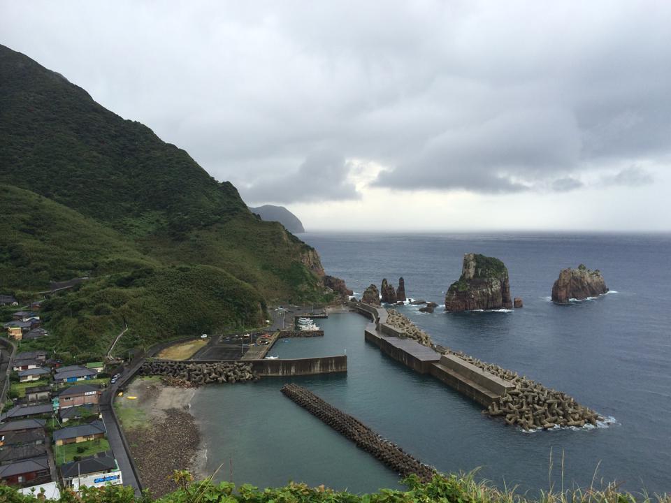 甑島を訪問 | 中野ひろまさ