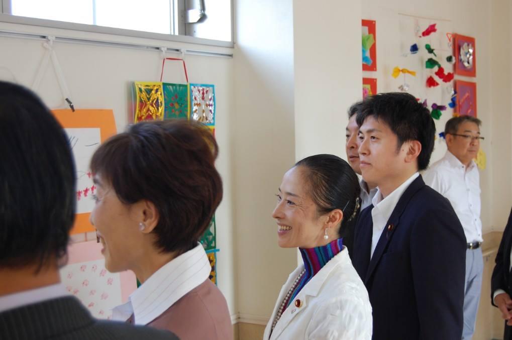 県立横浜南養護学校を視察