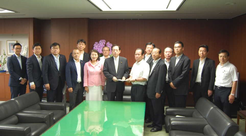 兵庫県議団と国土交通大臣へ要望