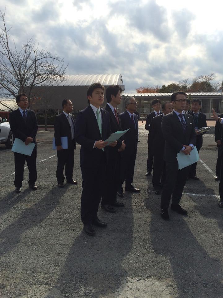 復興特委の視察で福島県広野町へ