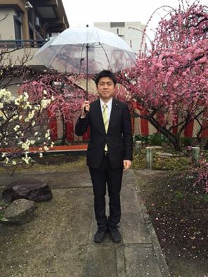 難波熊野神社の梅祭りに参加