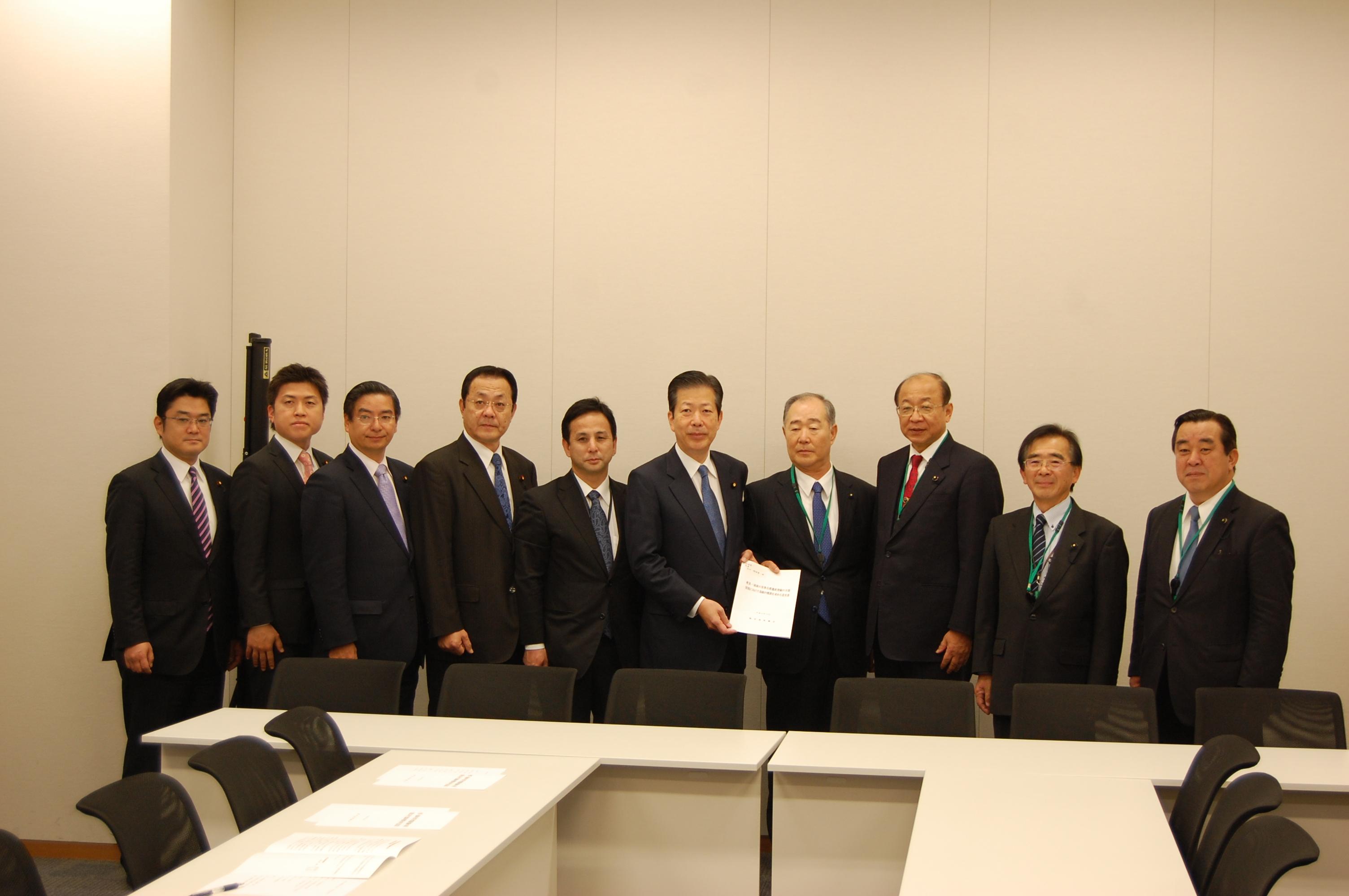奄美・琉球世界自然遺産登録について要望