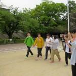 160503武庫川で伊藤たかえさんとウォーキング①