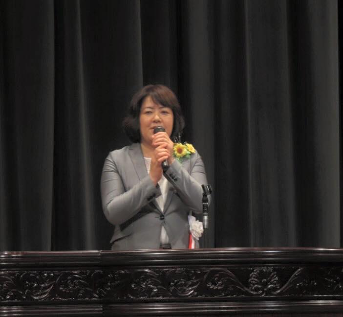 和田山で時局講演会