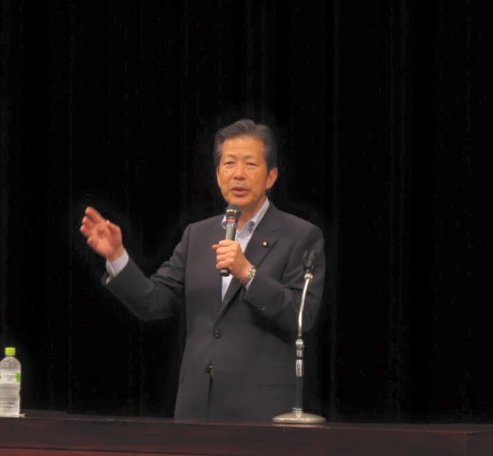 尼崎市の時局講演会に参加