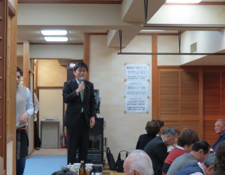関西甑島連合会の忘年会に参加