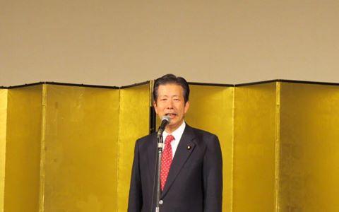 公明党兵庫県本部新春年賀会を開催