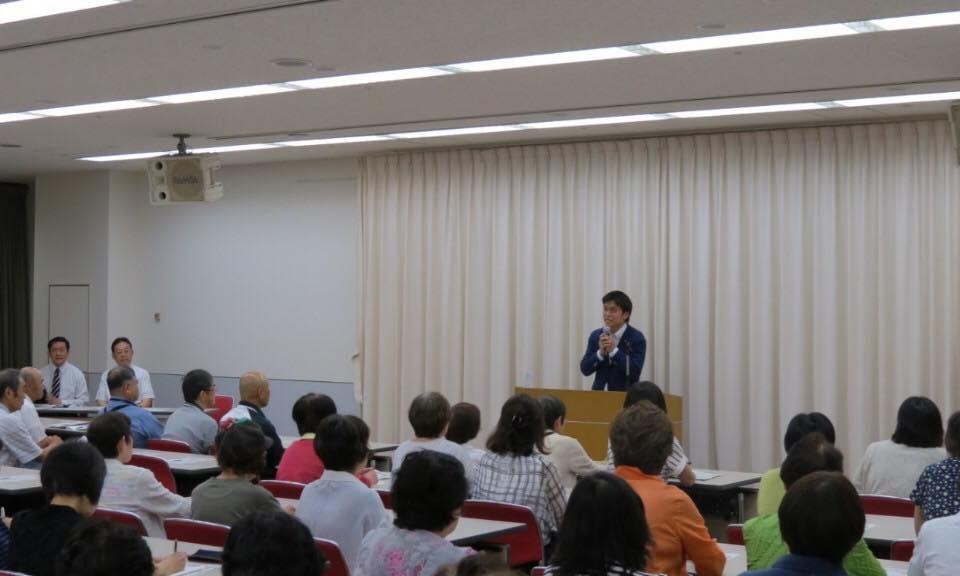 京都の南支部と西宮の大原Gの党支部会に参加