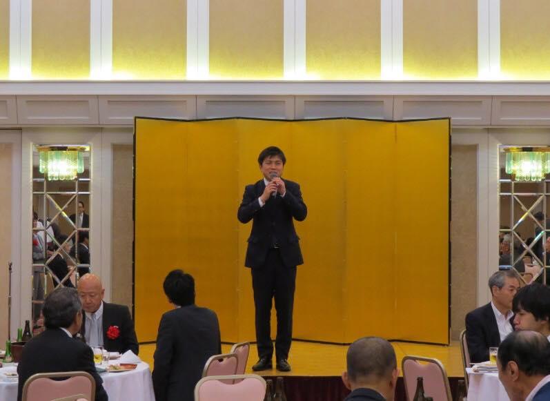 兵庫県トラック協会東部支部、尼崎運輸事業協同組合の総会に参加
