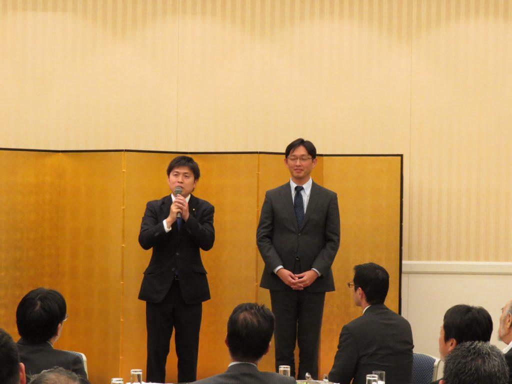 兵庫県電気工事工業組合尼崎支部の会合に参加