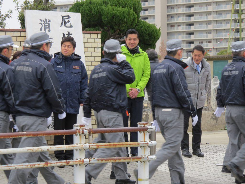尼崎市消防出初式・関西徳洲会の新年会に参加