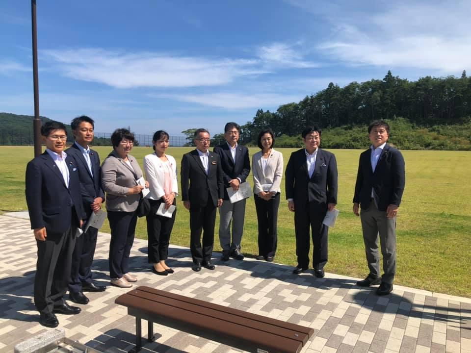東日本大震災復興特別委員会の視察