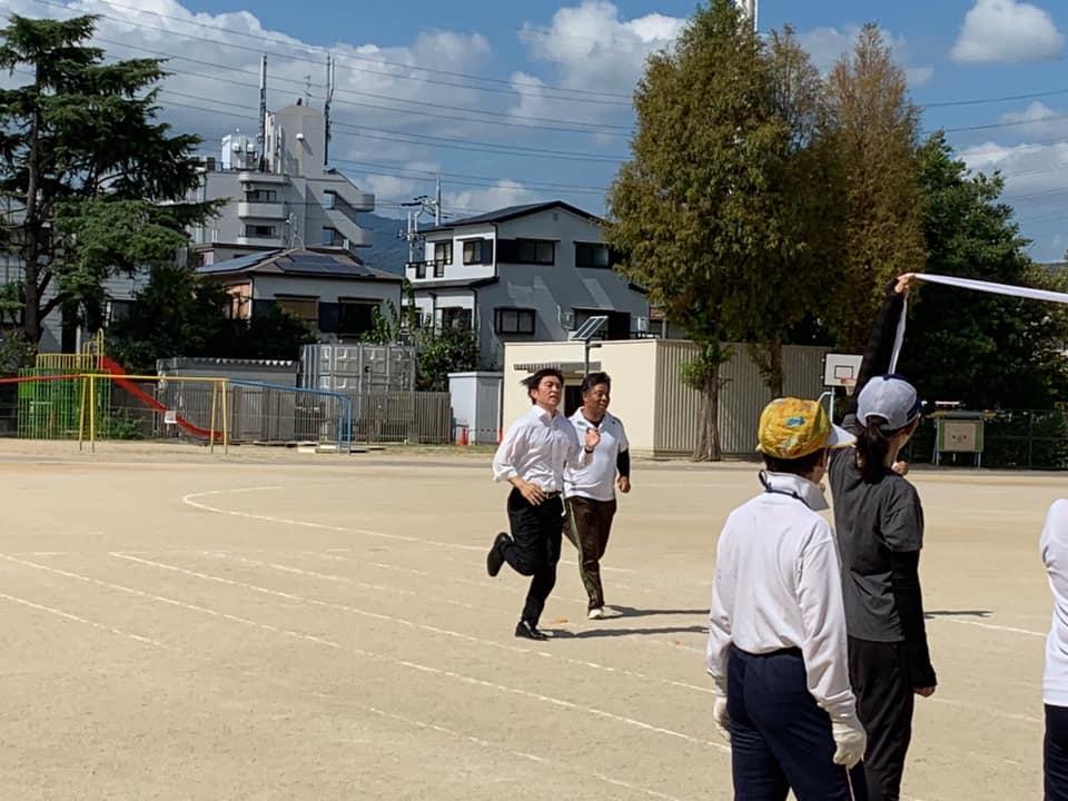 学校開放地域運動会に参加