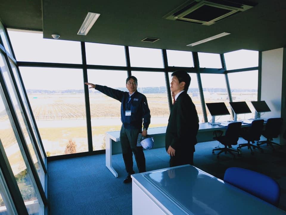福島ロボットテストフィールドを視察