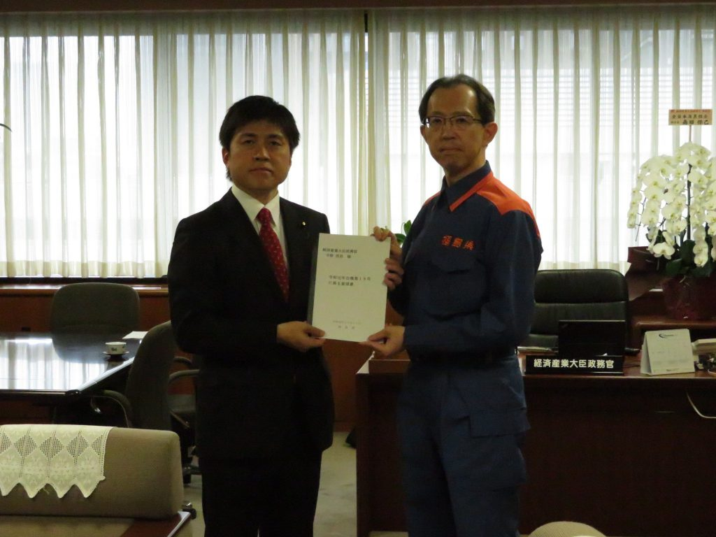 福島県知事から台風19号対応の要望