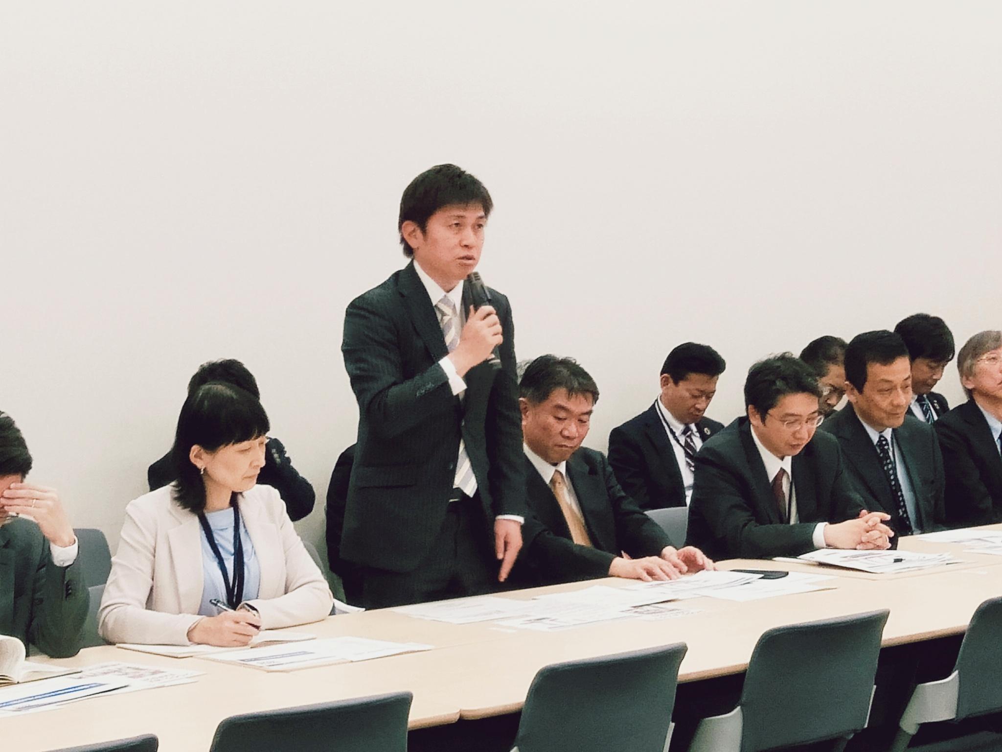 党大阪・関西万博推進本部に出席