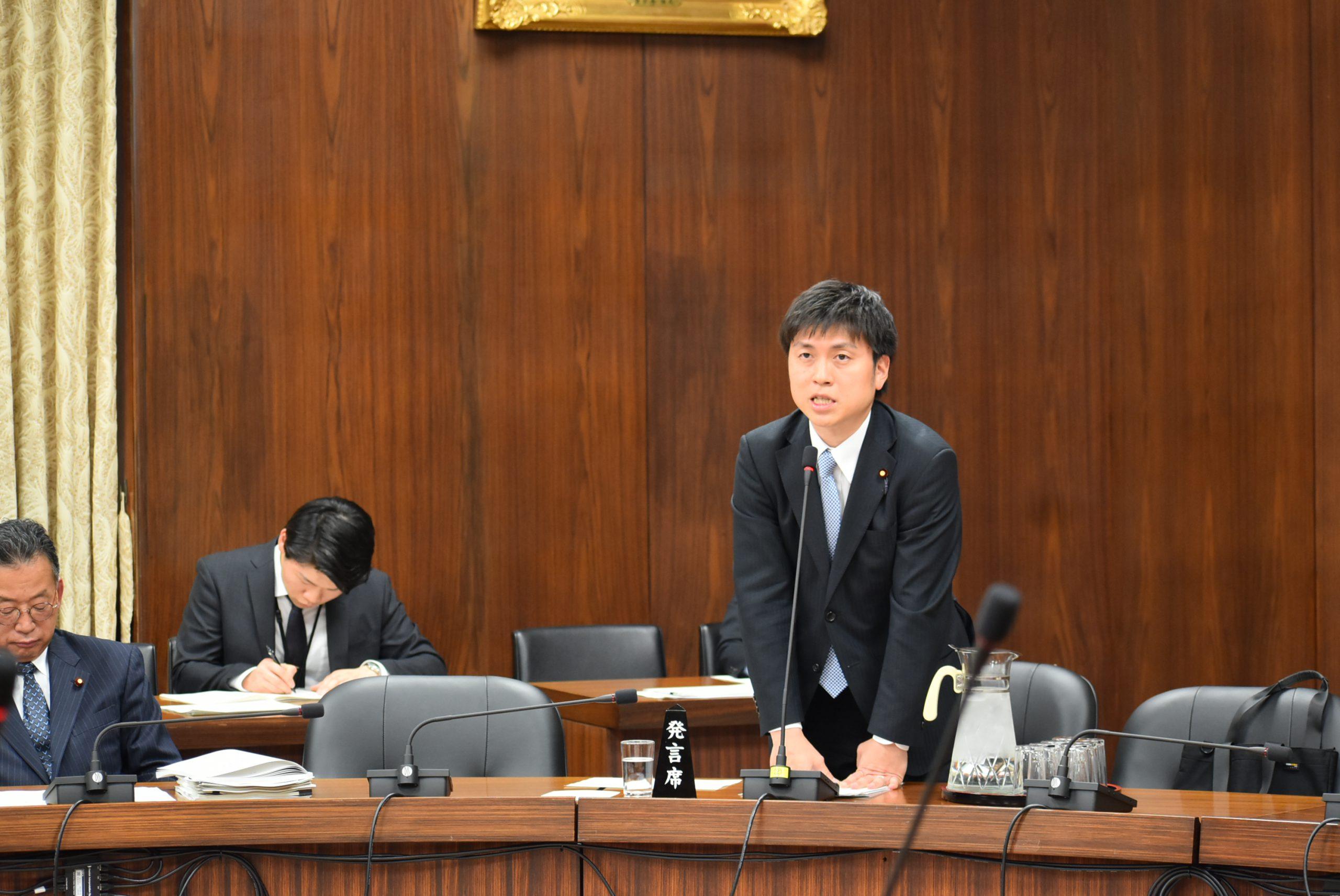 衆議院予算委員会第六分科会 (2019/2/27)