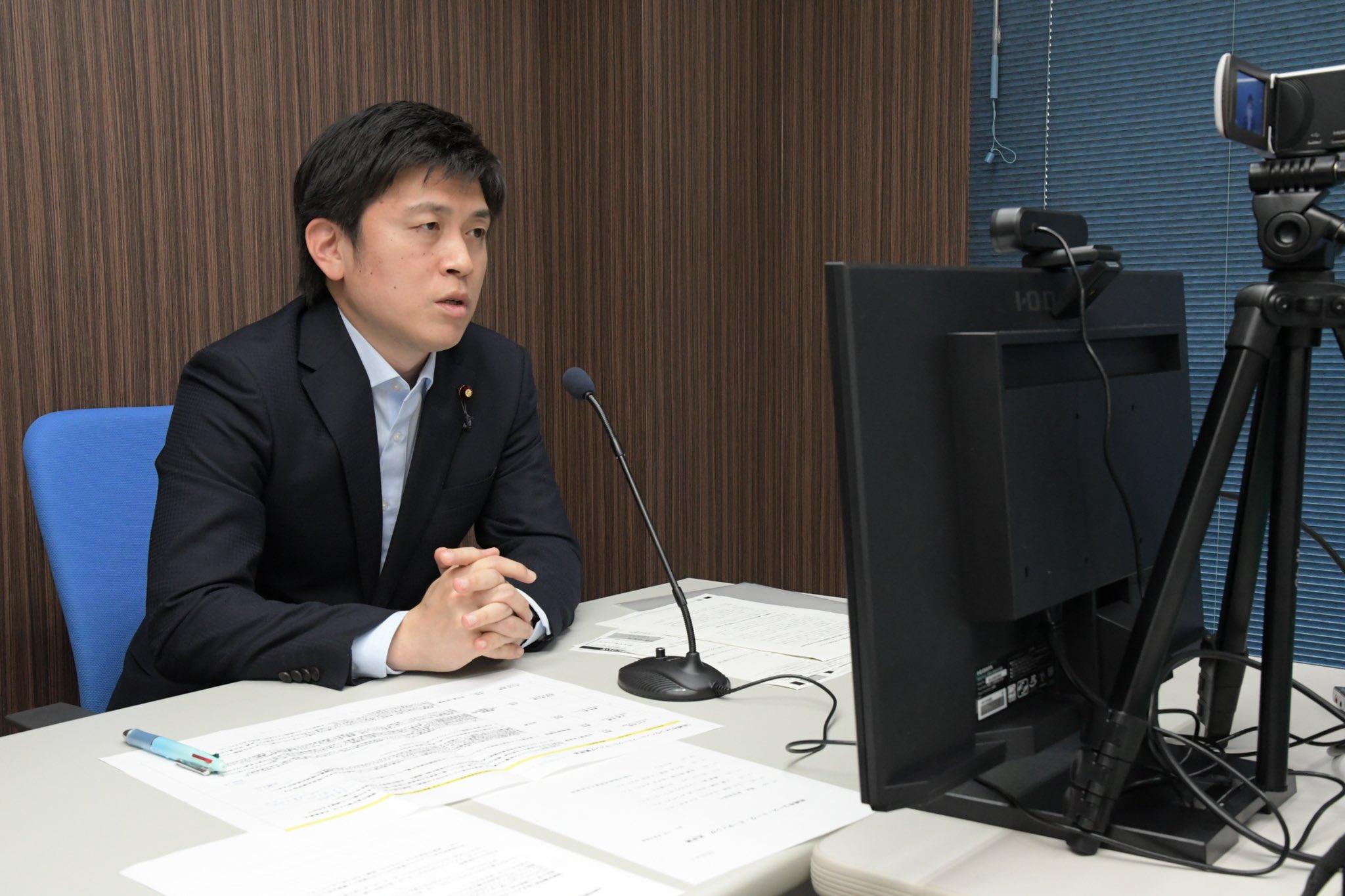 尼崎市の青年党員と懇談