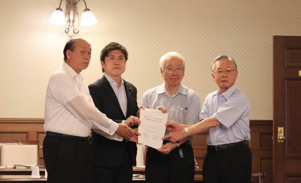 兵庫県知事と意見交換