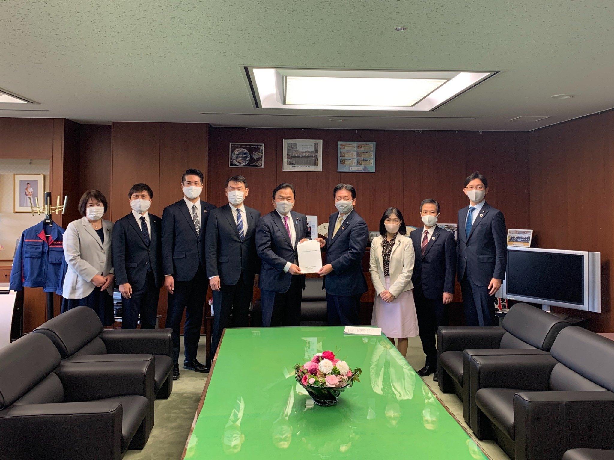兵庫県議団と陳情