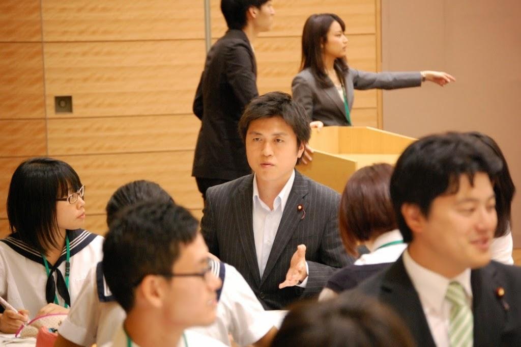 18歳選挙権実現に向けた学生イベントに参加