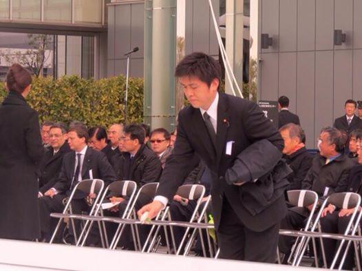阪神淡路大震災1.17の集いに参加