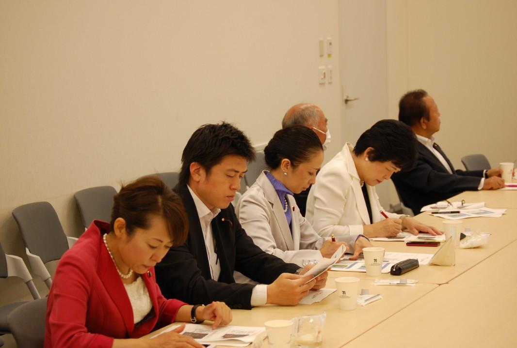日本(福島)ワシントン州友好議連に参加