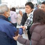 141202街頭演説(JR立花)②