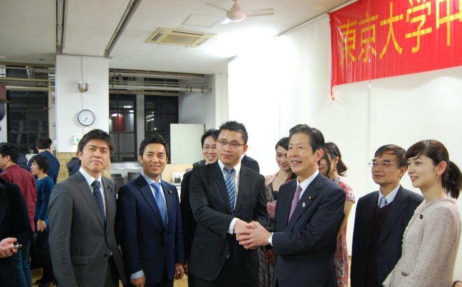東大中国人留学生の新年会