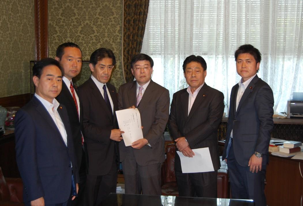 公職選挙法改正法案を提出