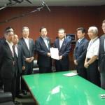 150630太田大臣要望:関西創生のための高速道路ネットワーク推進協議会(仮称)①
