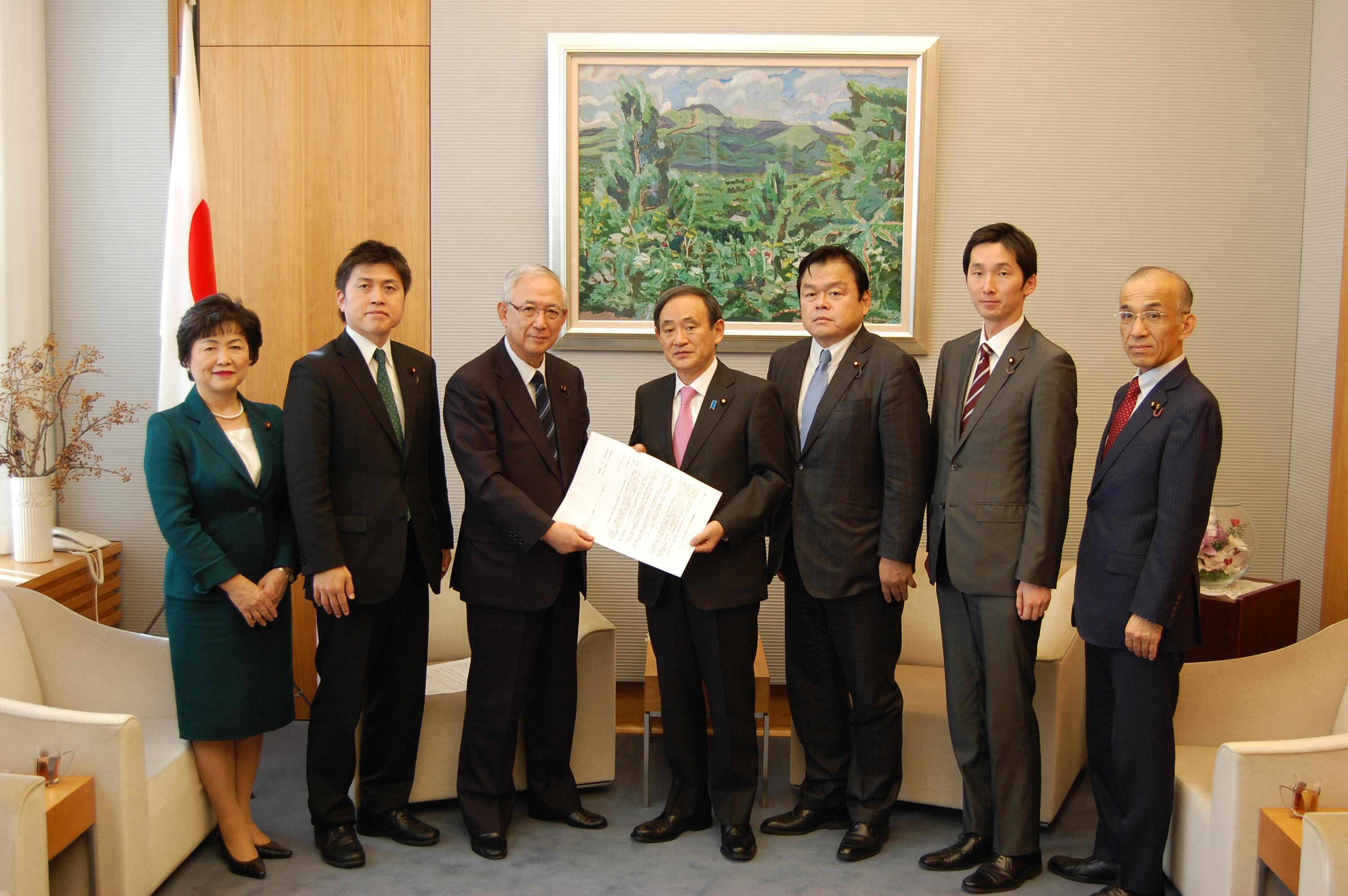福島イノベーションコースト構想について要望