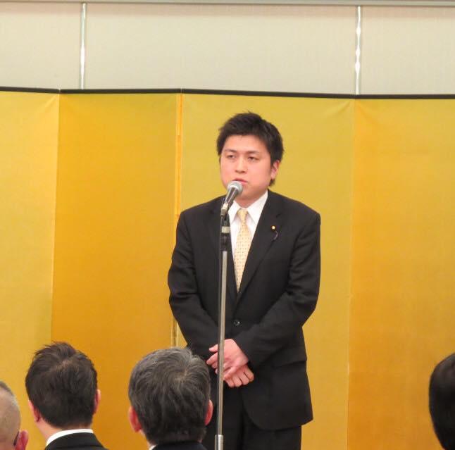 尼崎運輸事業協同組合新年懇親会に参加
