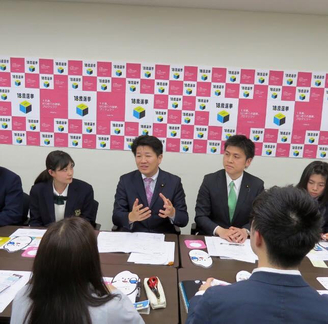 関西で高校生・大学生の皆様と懇談