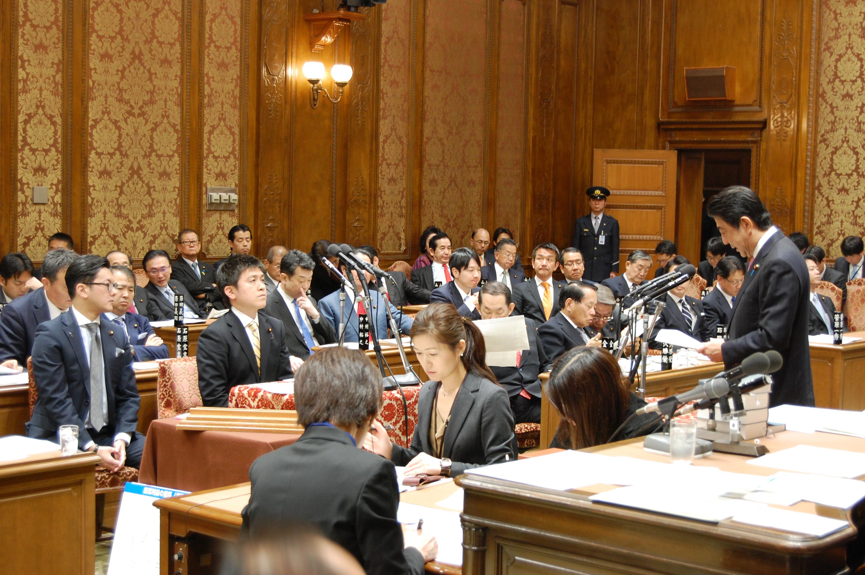 衆院予算委員会(2016/3/1)2