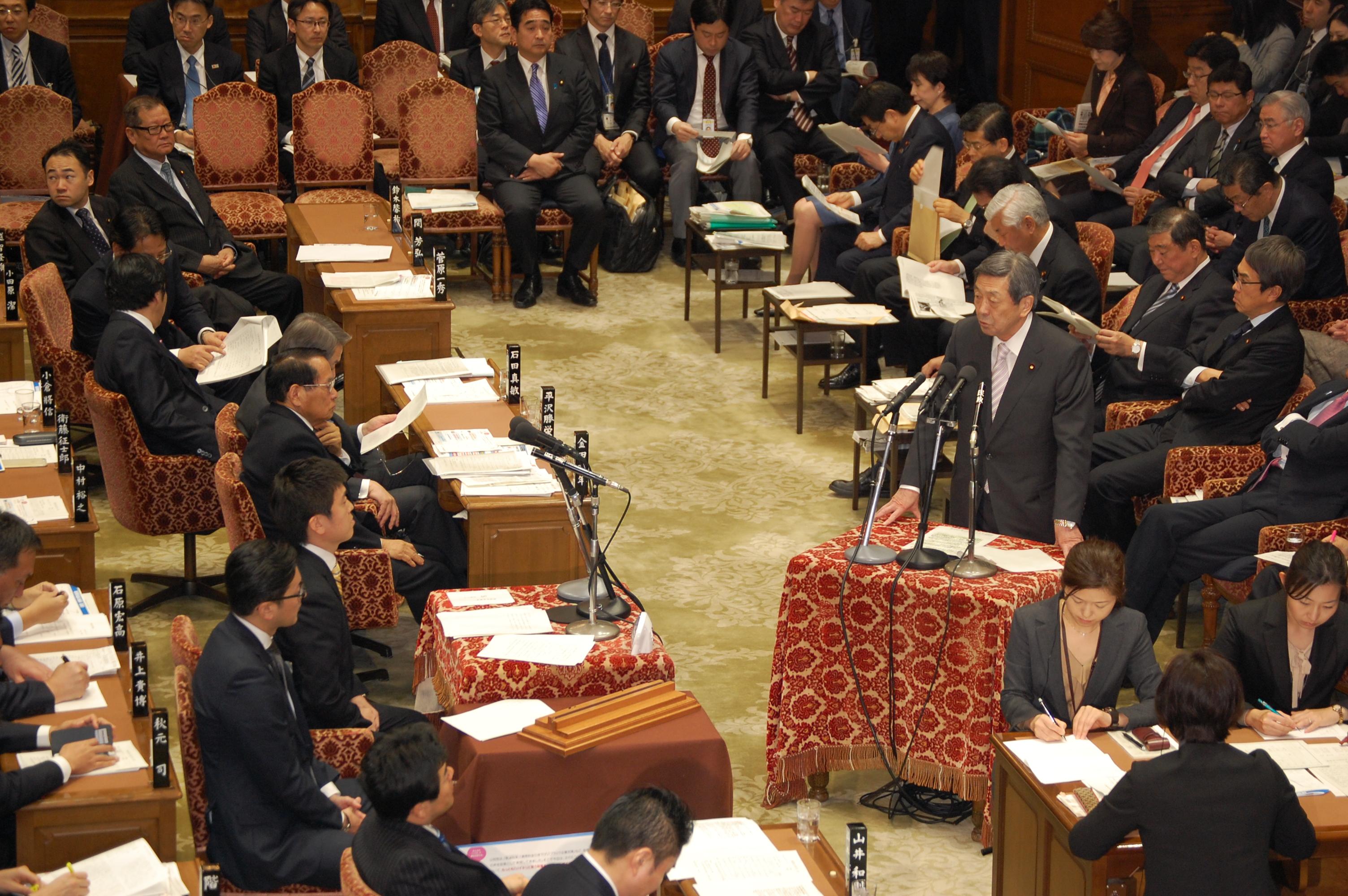 衆院予算委員会(2016/3/1)3
