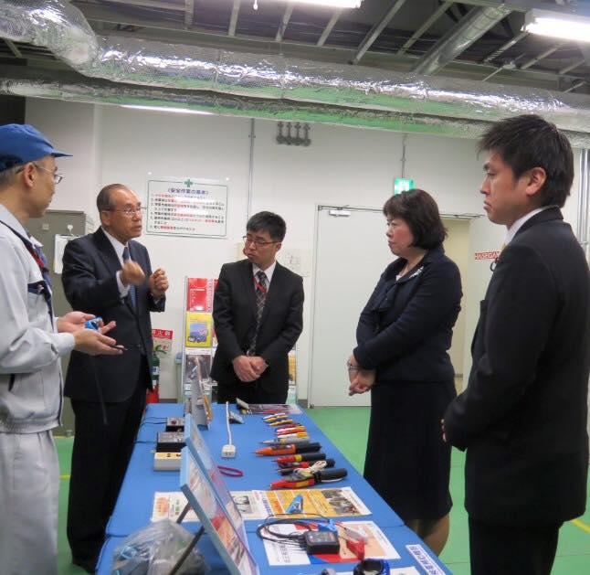 音羽電機工業株式会社を訪問
