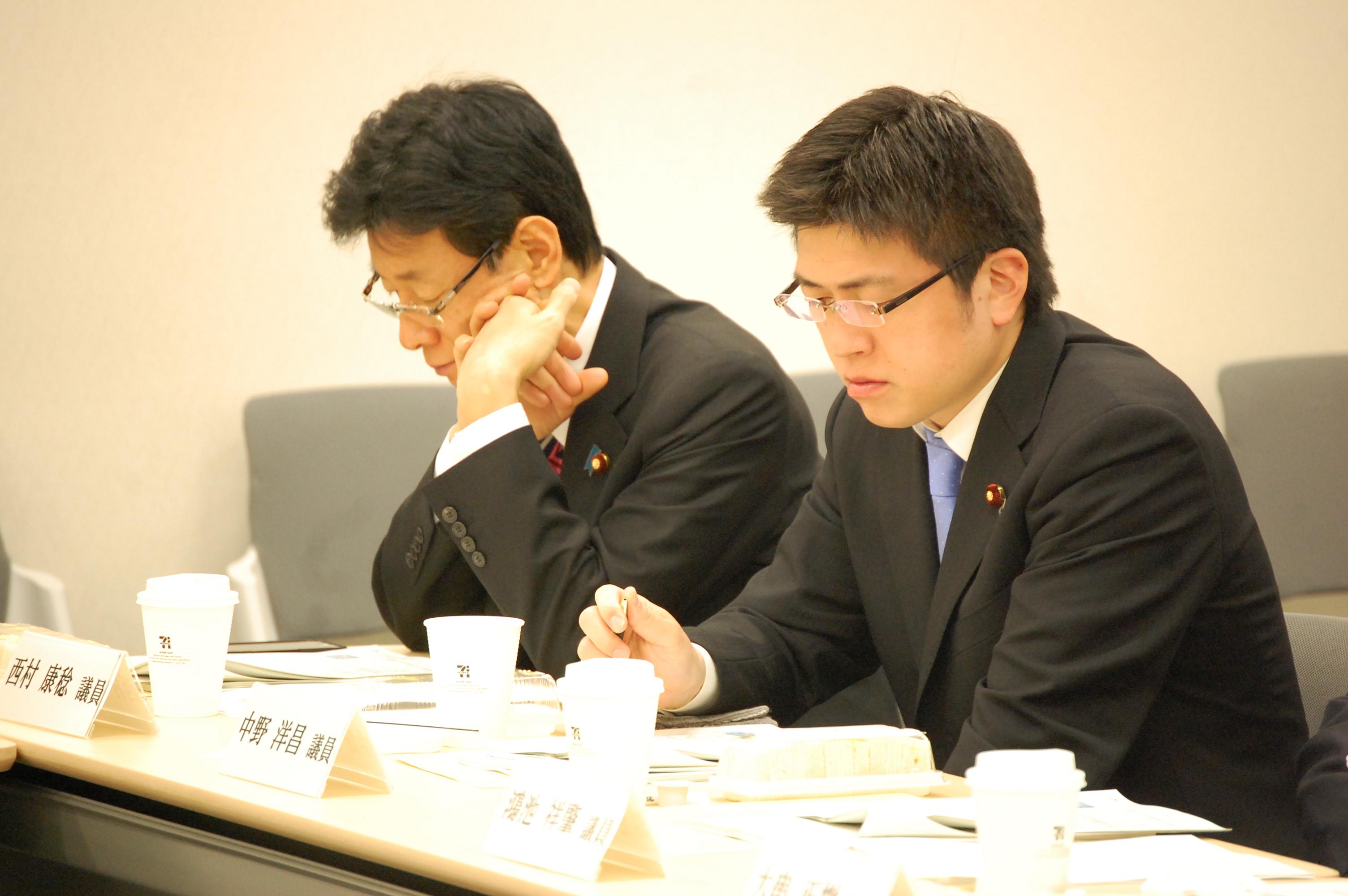 兵庫県来年度予算案を伺う