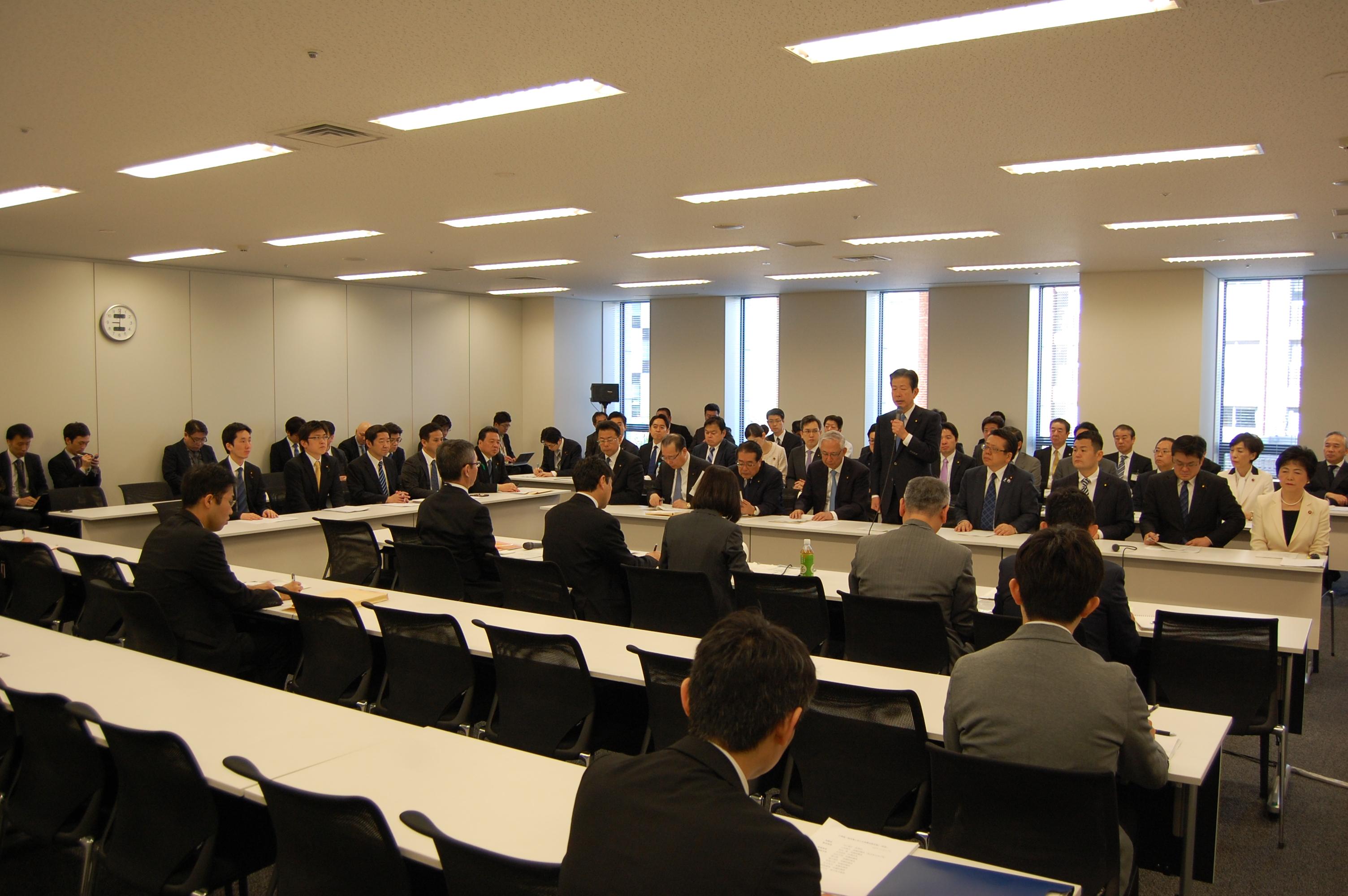 熊本県における地震対策本部を設置