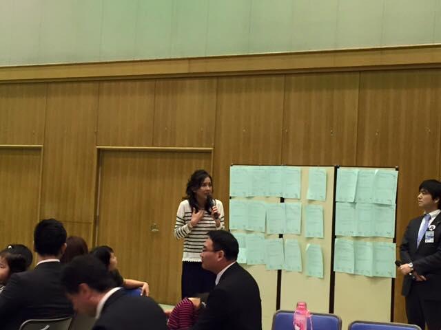 尼崎青年会議所例会に杉本彩さんが参加