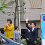 160505尼崎、伊丹で街頭演説②