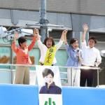 160627尼崎で伊藤たかえ候補の個人演説会④