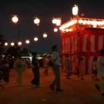 160729築地の盆踊りに参加④