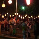 160812地域の盆踊りに参加②