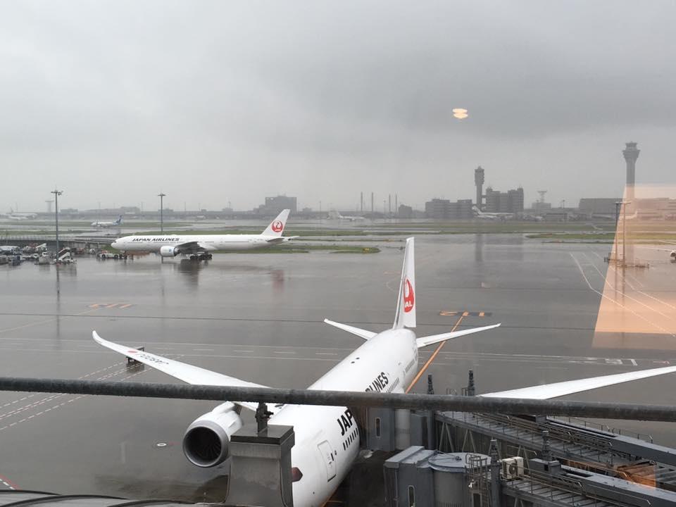 北京に向け出発