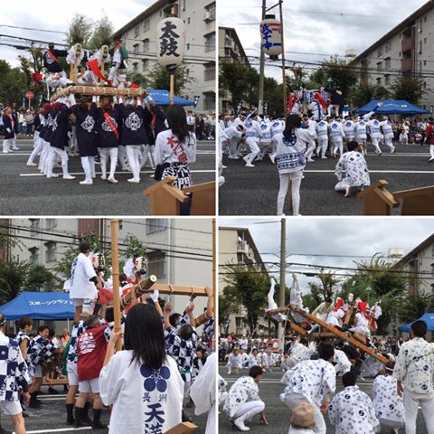 小田太鼓祭りに参加