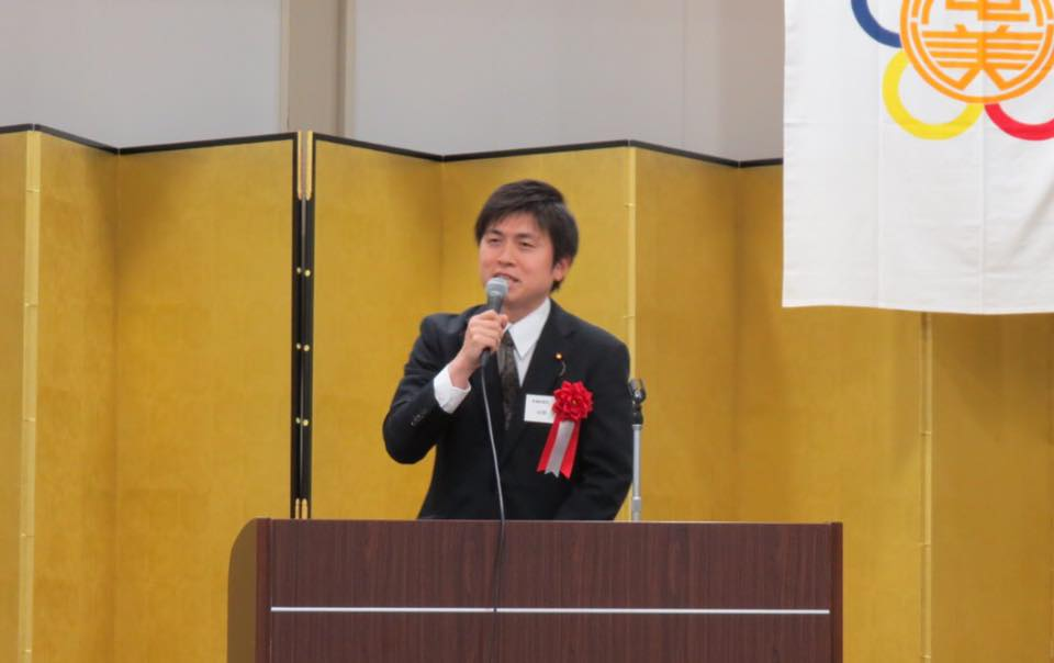 関西奄美会・関西徳洲会の新年会に参加