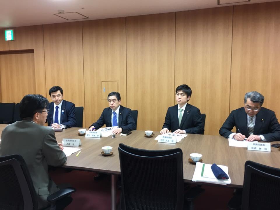 福島県の復興・再生に向けた取組を視察